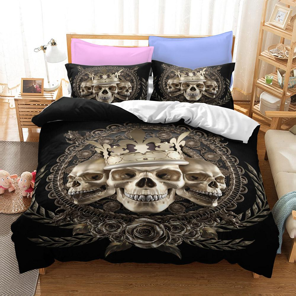Triple King Crown Bedding Set