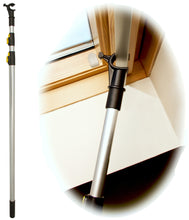 WinHux Window Pole 1.3-3.0 metre Silver -  (Only available via Amazon - Contact us for Bulk orders)