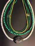 Pearl Statement Necklace - Cleopatra