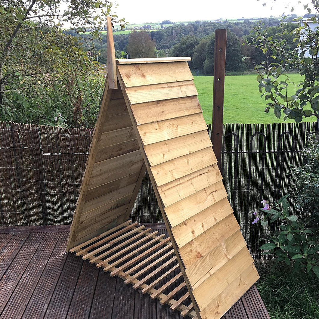 Cool Pyramid Triangle Log Store Wood House Timber Storage Camellatalisay Diy Chair Ideas Camellatalisaycom