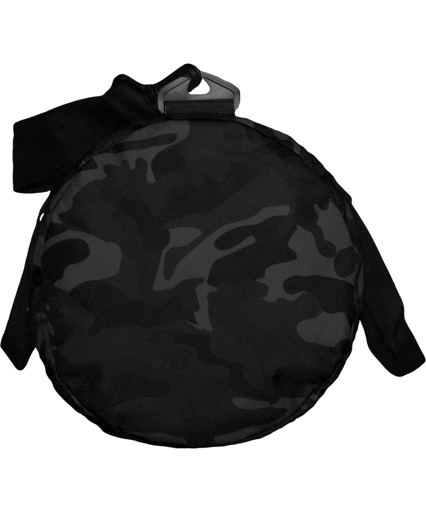 White Printed Barrel Bag rambo