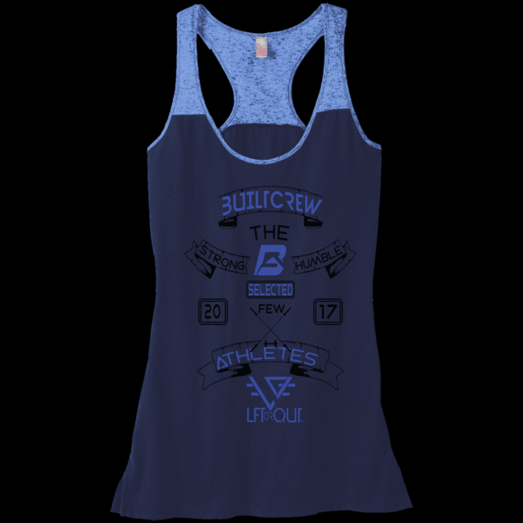 Women's BuiltCrew Motication Burn out Raceback Tank