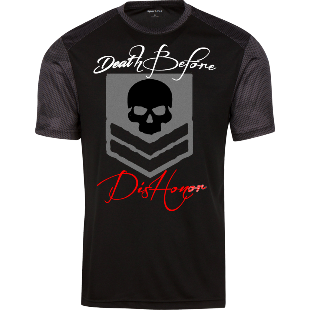 "Men's ""Death Before Dishonor"" CamoHex Tee"