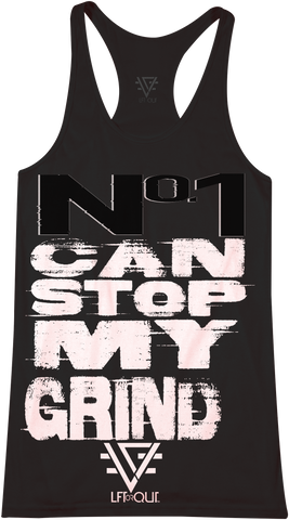 Men's No Can Stop Me Raceback Tank