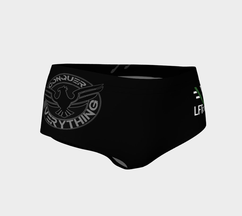 Women's CONQUER EVREYTHING SHORTS - liftorquitapparel