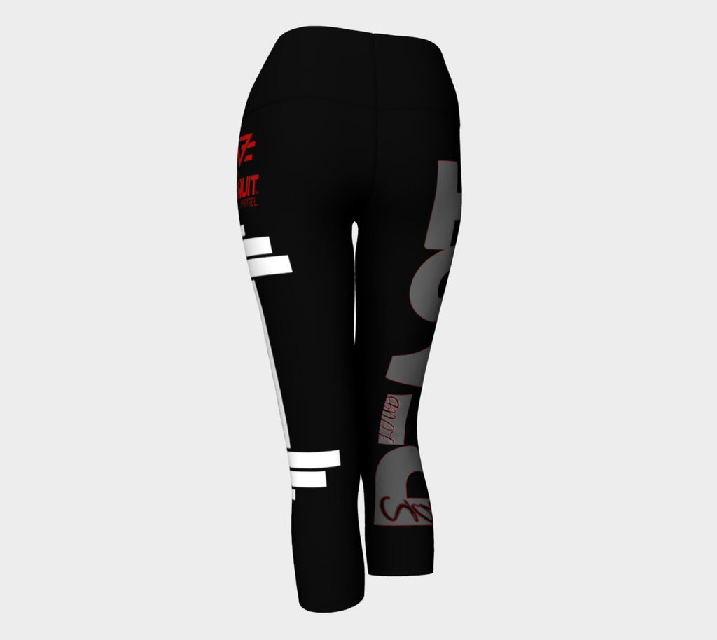 Women's Beast Barbell  Capris leggings - liftorquitapparel