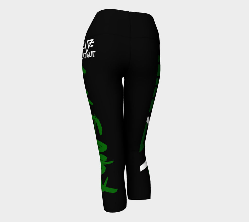 VET RUN SHIT Capris Leggings - liftorquitapparel