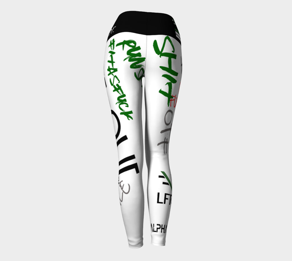 Womens WHAT IS YOUR EXCUSE Leggings - liftorquitapparel