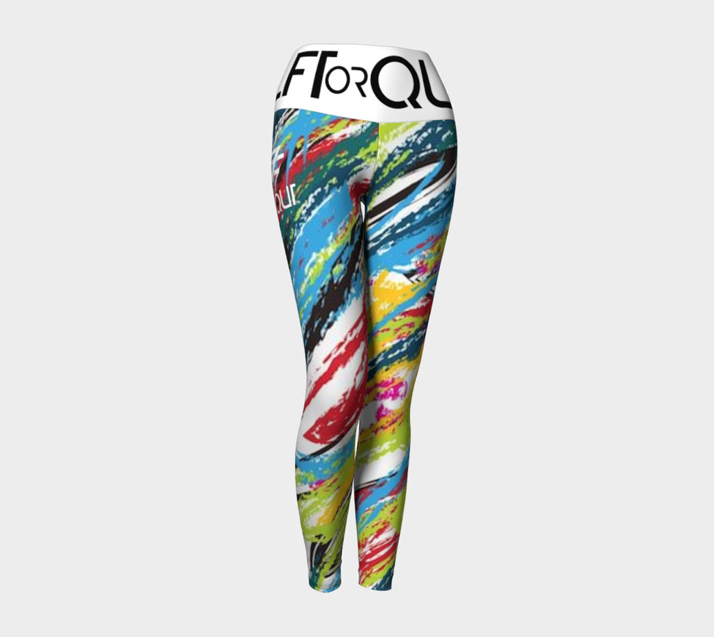 LFTOrQUT splatter paint leggings