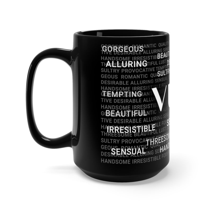 15oz Vuli Word Collage Mug