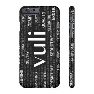 Vuli Word Collage Slim Phone Case