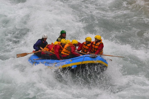 Adventure of Rafting at Lavasa (Kharwade)