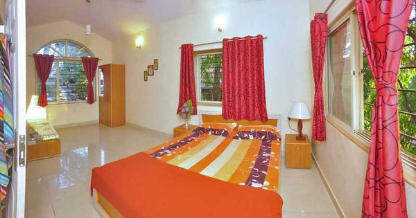 Panchgani: 4BHK AC Bungalow, View (Mountains valley) (bungalow No-  # 6)