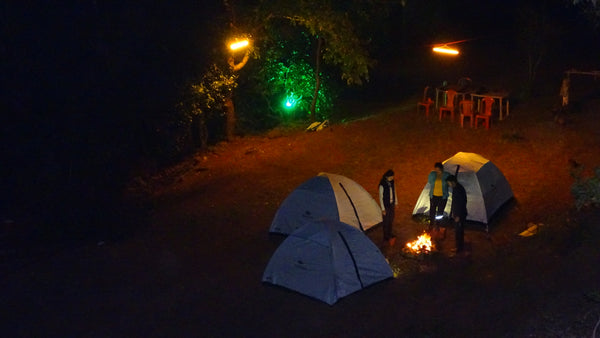 Tapola (Jungle stay) : River side Tent or Room with all food by special Jungle chef