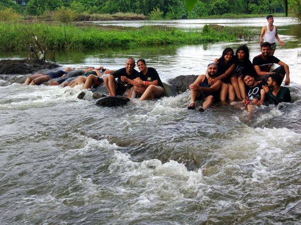 Rafting at Kolad & stay in river side resort.