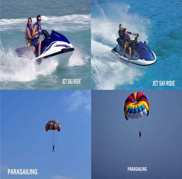 Calangute Beach: Adventure Water Sports