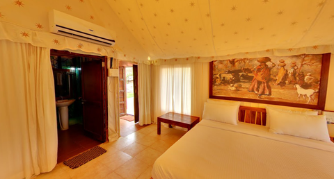 Khed Shivapur (Pune): Stay in AC Luxury Tent (River view), All meal, Activities & MORE!