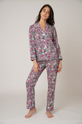Katro Broad Beach Cotton Pajama Set Ciara