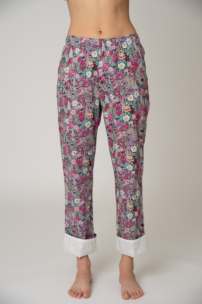 Broad Beach Cotton Pajama Set - Ciara