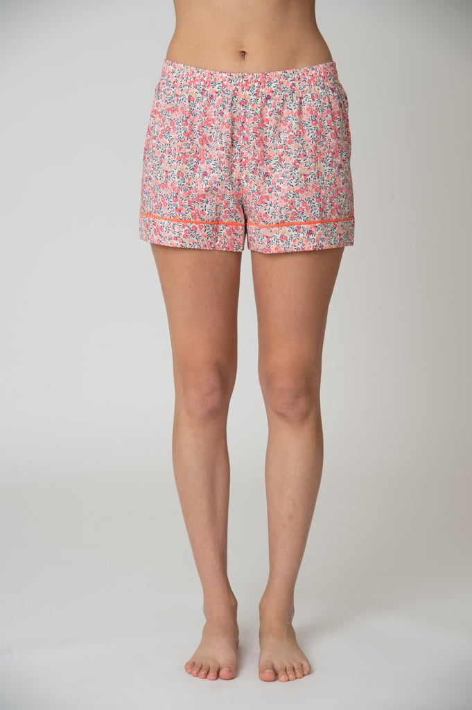Katro Latigo Pajama Shorts Set Wiltshire