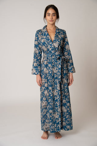 Matador Robe - Blue Graceful