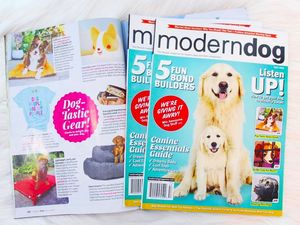 MODERN DOG MAG FEATURE - FALL ISSUE