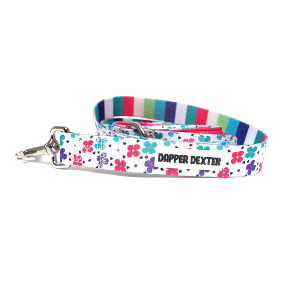 SPRING FLOWERS DOG LEASH