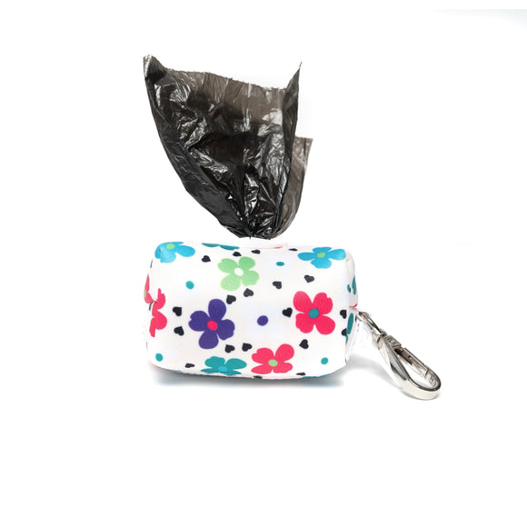 SPRING FLOWERS LEASH BAG