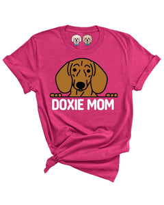 DOXIE MOM- BERRY T-SHIRT