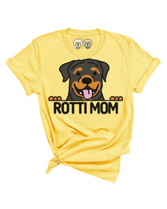 ROTTI MOM- YELLOW T-SHIRT