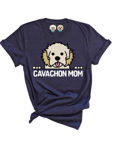 CAVACHON MOM- NAVY T-SHIRT