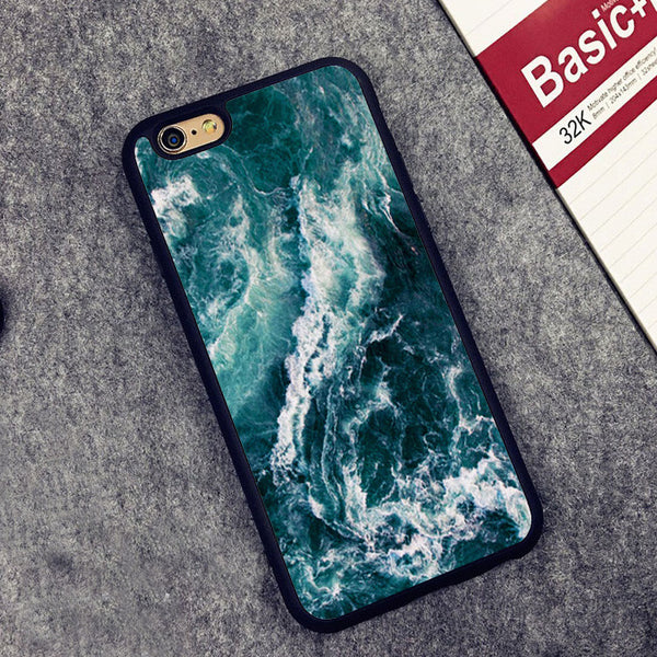Catch the warm ocean vibes with a unique waves case for your iPhone.