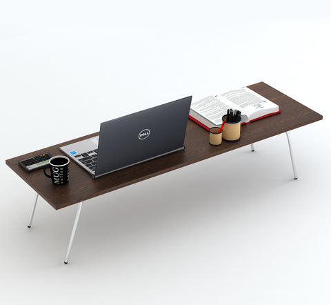 Monroe Folding Multipurpose Bed Dining Cum Study & Laptop Table (Wenge)