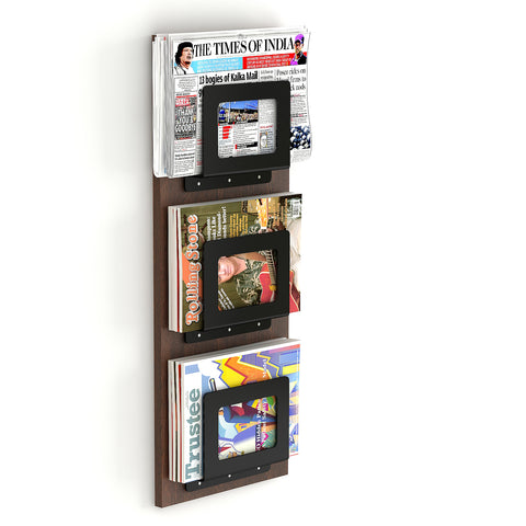 Charlie Magazine Holder Rack Cum Newspaper Stand