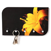 Vivid Art Work Key Holder (5 Hooks) - Bluewud