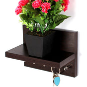 Skywood Key Holder w/ Decor Shelf - Bluewud