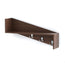 Lucas Decor Wall Shelf/Display Rack with Hooks