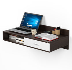 Bluewud Reynold Wall Mount Study Cum Laptop Table (Wenge)