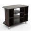 Bluewud Gautier TV Entertainment Unit/Set Top Box Stand/Book Shelf (Wenge)