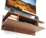 Reynold Wall TV Unit (Standard, Walnut)