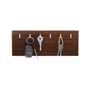 Wudville Particle Board Modern Elegant Wall Mount Key Holder/ Hanging Hook Organizer for Decor