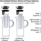 Glass Infusion Pitcher Technical