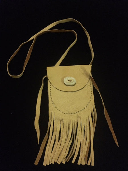 Medicine Bag with Antler Button