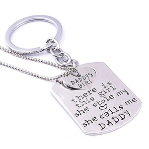 Father of the Bride Keychain Gift