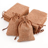 Image of Burlap Favor Bags