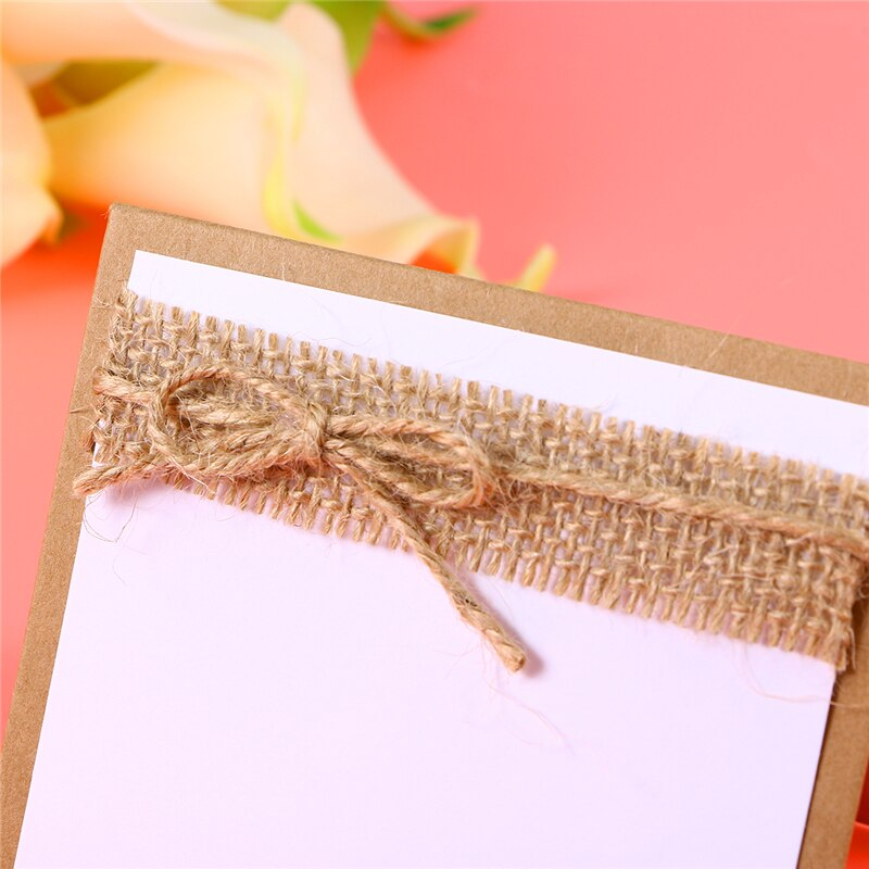 Rustic Table Place Name Cards