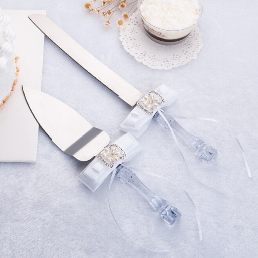 Personalised Wedding Cake Knife Set