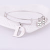 Image of Personalised Initial Bangle