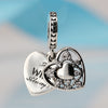 Image of My Wife Charm 925 Sterling Silver