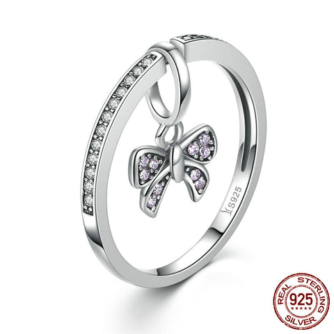 Tie The Knot Ring - 925 Sterling Silver